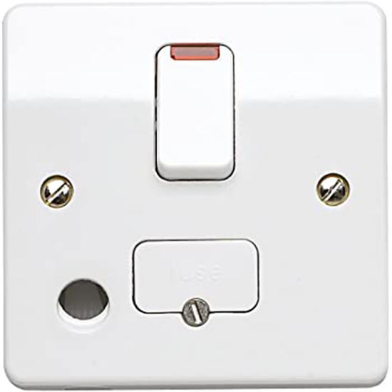 Picture of 13A Connection Unit  Switched Double Pole with Front Flex Outlet