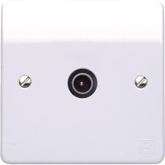 Picture of Single Non-Isolated TV/ Co-Axial Outlet