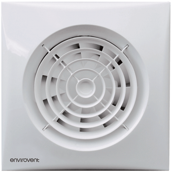 Picture of Silent 100 Extractor Fan - Ultra Quiet WC & Bathroom Fans
