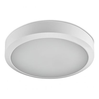 Picture of WL92 Straight to Mains 19.5W Emergency & Microwave Sensor LED Bulkhead - Colour Switchable