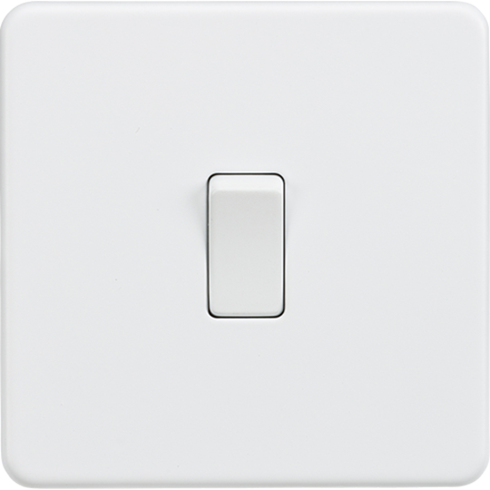 Picture of 20A 1 Gang Double Pole Switch - Matt White