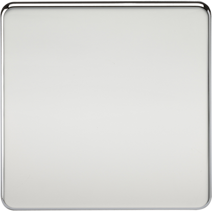 Picture of 1 Gang Blanking Plate - Polished Chrome