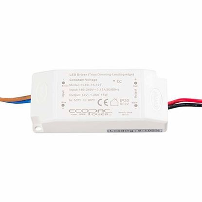 Picture of 15W 12V Triac Dimmable LED Driver