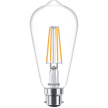 Picture of 7-60W Classic Non-Dimmable LED Bulb ST64 B22