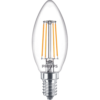Picture of 4.3-40W Non-Dimmable Classic LED Candle E14