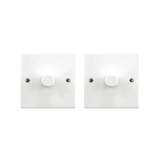 Picture of 5-150W Multi-Way 2 Point Set 1 Gang Dimmerswitch