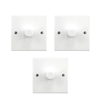 Picture of 5-150W Multi-Way 3 Point Set 1 Gang Dimmerswitch