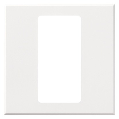 Picture of Single Gang Pico Faceplate - White