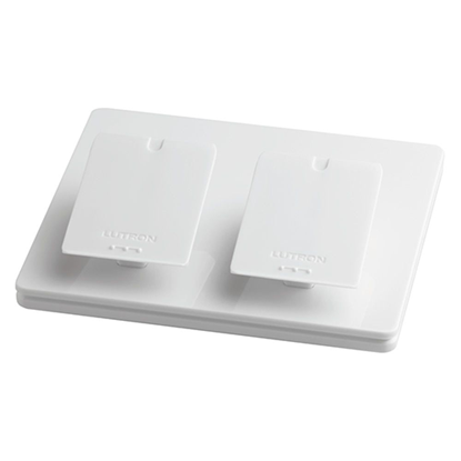 Picture of Dual Gang Pico Pedestal - White