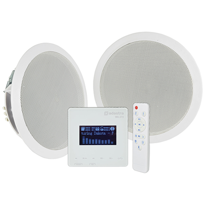 Picture of WA-215 In-Wall Amplifier & Ceiling Speaker Set