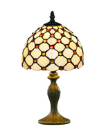 Picture of 38cm Brown Raindrop Table Lamp