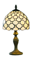 Picture of 38cm Clear Raindrop Table Lamp