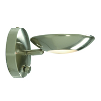 Picture of Satin Silver Halogen Uplight Wall Bracket