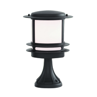 Picture of Bollard & Post Lamp Black Cast Aluminium Post Lamp