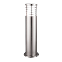 Picture of 1 Light 45cm Satin Silver Outdoor Post Lamp