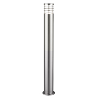 Picture of 1 Light 90CM Satin Silver Outdoor Post Lamp