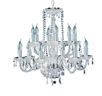 Picture of Hale Georgian Style Crystal Chandelier
