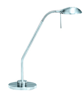 Picture of Satin Silver Halogen Flexi Table Lamp