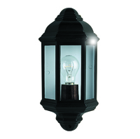 Picture of Outdoor & Porch Black Outdoor Wall Light Flush