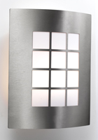 Picture of Stainless Steel 1 Light Outdoor Wall Bracket