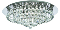 Picture of Hanna Stylish 8-Light Chrome Finish with Crystal Trimmings