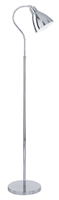 Picture of Libra Floor Lamps Chrome Finish Modern Spot Floor Standard