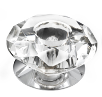 Picture of 1 Light Chrome Recessed Fitting Clear Diamond