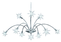 Picture of Star 10 Light Chrome Pendant Fitting