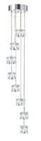 Picture of 8 Light Ice Cube Fitting - Dingle Dangle