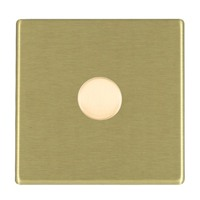 Picture of Hartland Screwless SB/BL 1 Gang 2 WAY 1000W Push On/Off Resistive Dimmer
