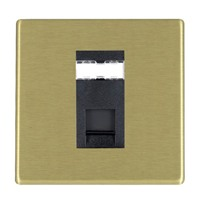 Picture of Hartland Screwless SB/BL 1 Gang RJ45 Outlet CAT 5E-Unshielded Outlet