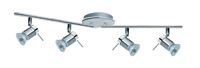 Picture of 4 Light Chrome Spotbar IP44 Rated