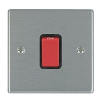 Picture of Hartland SS/BL 1 Gang 45A Double Pole Red Switch