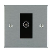 Picture of Hartland SS/BL 1 Gang FM DTV Screened Non Isolated Socket
