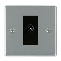 Picture of Hartland SS/BL 1 Gang TV DTV Screened Non Isolated Socket