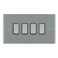 Picture of Hartland SS/BL 4 Gang 2 WAY 10AX Rocker Switch