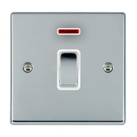 Picture of Hartland BC/WH 1 Gang 20A Double Pole Switch + Neon