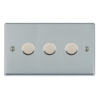 Picture of Hartland BC/WH 3 Gang 2 WAY 400W Resistive Dimmer
