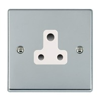 Picture of Hartland BC/WH 1 Gang 5A Unswitched Socket
