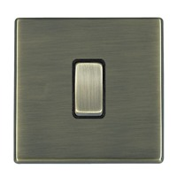 Picture of Hartland Screwless Antique Brass With Black Insert