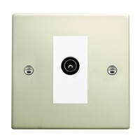 Picture of Hartland PO/WH 1G TV DTV Screened Non Isolated Socket