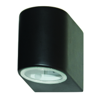 Picture of 1 Light Black Outdoor Wall Bracket - GU10 35W