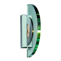 Picture of Clear Half Circle Glass Wall Bracket