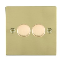 Picture of Sheer PB/WH 2 Gang 2 WAY 400W Resistive Dimmer