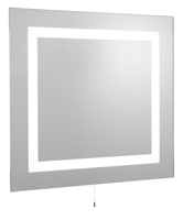 Picture of Rectangular 4 Light Mirror - IP44 Rating