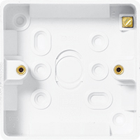 Picture of Nexus Surface Box - 1 gang surface pattress for socket outlet 32mm