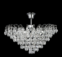 Picture of Limoges Semi-Flush Chandelier Trimmed with Sunflower Crystals