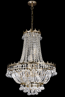 Picture of Versailles Elegant Gold Plated Finish Chandelier