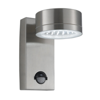 Picture of LED Outdoor Stainless Steel Wall Light with Motion Sensor