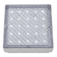 Picture of Clear 15CM Square Walkover - White LED